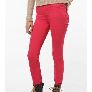 BDG Cigarette High Rise Pink Skinny Jeans, 27x34